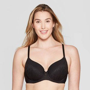 Women's Full Coverage Icon Lightly Lined Bra - 34B